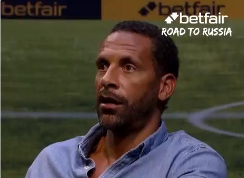 Entrevista Rio Ferdinand Betfair - Road to Russia